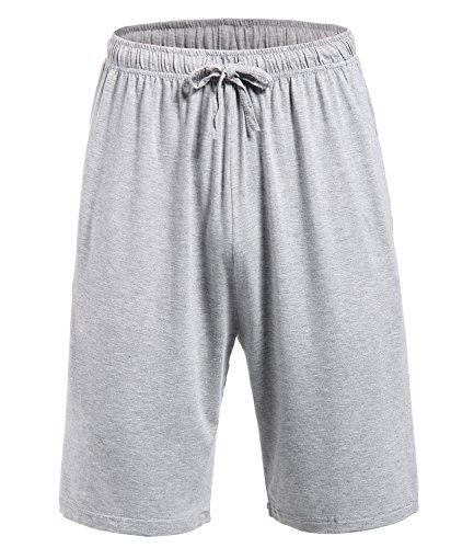 Latuza Men's Pajama Bottom Shorts XXL LightGray