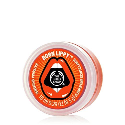 The Body Shop Satsuma Shimmer Born Lippy Lip Balm, 0.3 Ounce