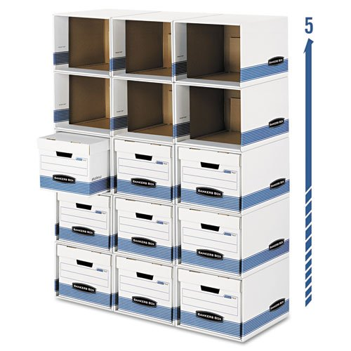 FEL0162601 - Bankers Box File/Cube Box Shell - Letter/Legal