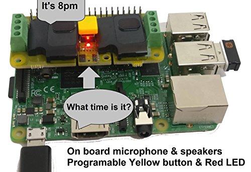 Audio DAC HAT Sound Card (Audio+Speaker+MIC) for Raspberry Pi4 /Pi Zero / Pi3 / Pi3B / Pi3B+ / Pi2 / Better Quality Than USB