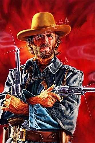 Posters USA - Clint Eastwood The Outlaw Josey Wales Movie Poster GLOSSY FINISH - FIL079 (24' x 36' (61cm x 91.5cm))
