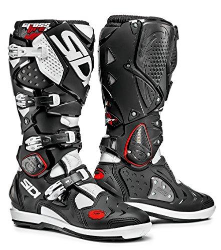 Sidi Crossfire 2 SRS Boots (BLACK/WHITE)