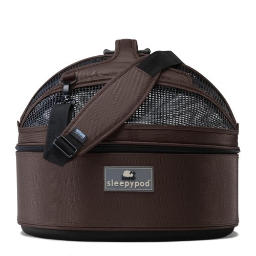 Sleepypod Medium Mobile Pet Bed, Dark Chocolate