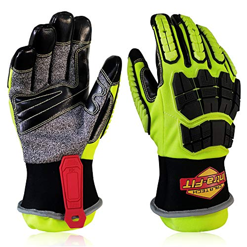 Intra-FIT Rescue 79315 Extrication Glove, Water-proof,Great barrier & liner retention. Super Dexterity 5, EN 388: 2016 3X44EP