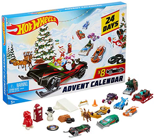 Hot Wheels Advent Calendar Vehicles