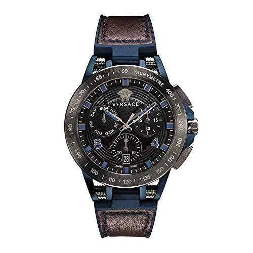 Versace Mens Watch Sport Tech Swiss Made Sapphire Crystal