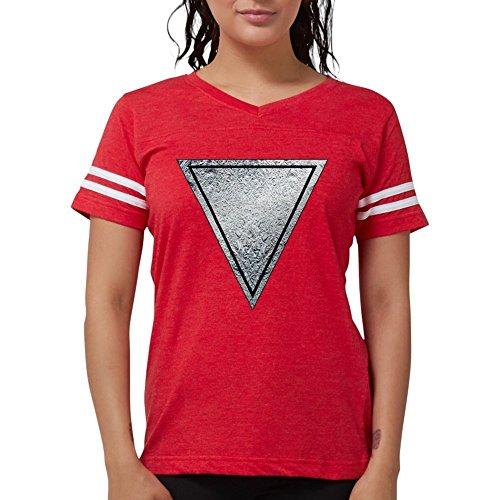 CafePress Mork and Mindy Ork Insignia T Shirt Womens Football Shirt Red