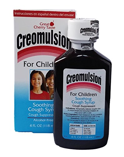 Creomulsion Children's Cough Syrup, 4 Ounce (Pack of 3)