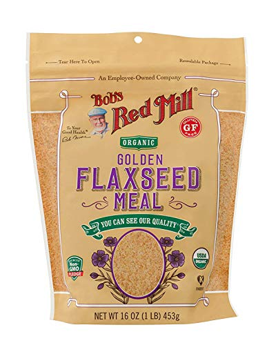 Bob's Red Mill Golden Flaxseed Meal, 16 oz, 2 pk