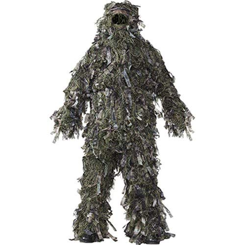 HOT SHOT Men's 3-Piece 3-D Ghillie Suit, Woodland Camo – Hunting Ghillie Suit