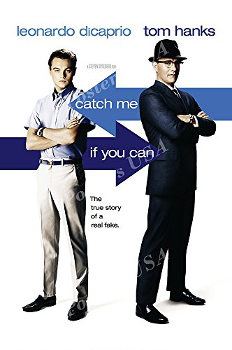Posters USA - Catch Me If You Can Movie Poster GLOSSY FINISH - MOV434 (24' x 36' (61cm x 91.5cm))