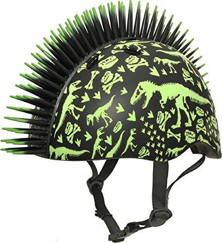 Raskullz T-Rex Bonez Mohawk Helmet, 3+ (48-52Cm)