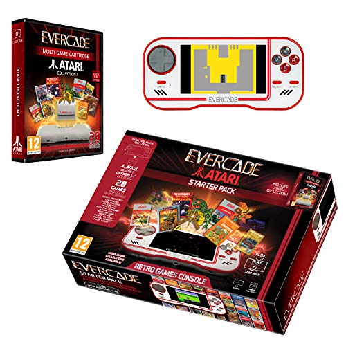 Evercade Starter Pack Includes Atari Cartridge Collection 1 - Electronic Games