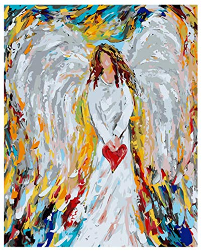 Angel DIY Painting by Numbers Modern Wall Art Picture Coloring by Numbers Unique Gift Paint by Numbers for Home