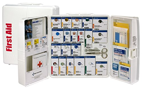 First Aid Only 90580 Plastic SmartCompliance First Aid Cabinet without Medications, Large