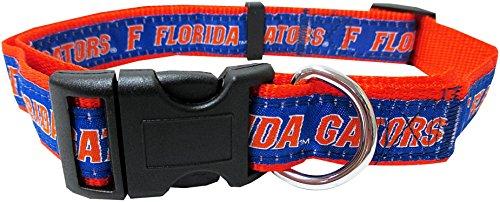 Pets First Collegiate Pet Accessories, Dog Collar, Florida Gators, Medium