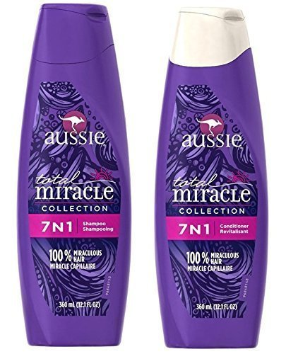 Aussie Total Miracle Shampoo And Conditioner 7 In 1 Set