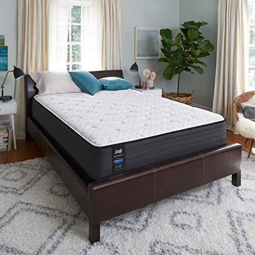 Sealy Response Performance 13-Inch Cushion Firm Eurotop Mattress, Queen, Made in USA