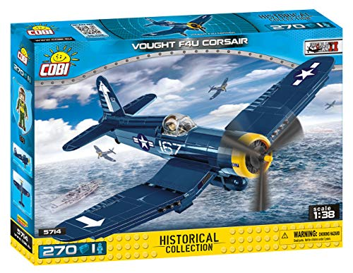 COBI - Small Army VOUGHT F4U Corsair (260 PCS), Multi