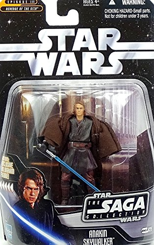 Anakin Skywalker Star Wars Revenge of the Sith Episode III Ultimate Galactic Hunt Silver Stand Figure