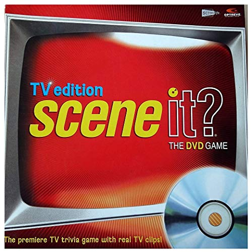 Scene It TV Edition DVD Trivia Television Game