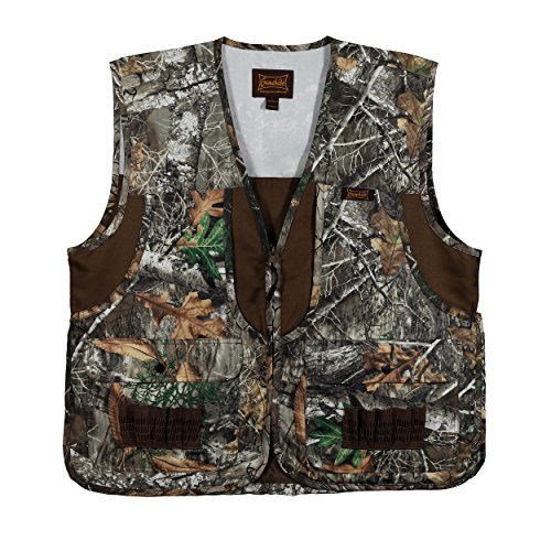 Gamehide Camo Front Loading Upland Dove Hunting Vest with Camo Back