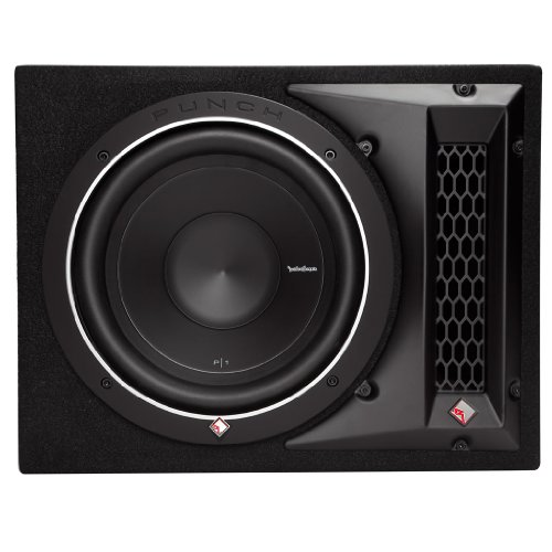 Rockford Fosgate Punch P1-1X10 Single P1 10' Loaded Subwoofer Enclosure Ported