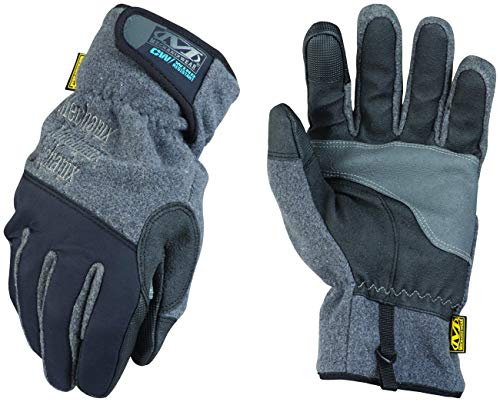 Mechanix Wear: Winter Work Gloves for Men - Wind Resistant - Insulated with 3M Thinsulate, Touchscreen, Abrasion Resistant (Medium, Black/Grey)