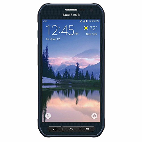 Samsung Galaxy S6 Active G890A (64GB) 5.1' Rugged Waterproof IP68 GSM Unlocked Smartphone (Camo Blue)
