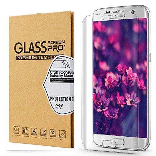 Galaxy S7 Edge Screen Protector,Galaxy S7 Edge Glass Screen Protector, Samsung Galaxy S7 Edge Screen Protector, Carryberry [3D Full Curved Edge] Screen Protector for Samsung Galaxy S7 Edge