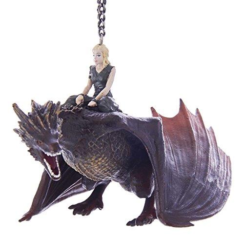 Kurt S. Adler Kurt Adler 5' Game of Thrones Daenerys with Dragon Ornament