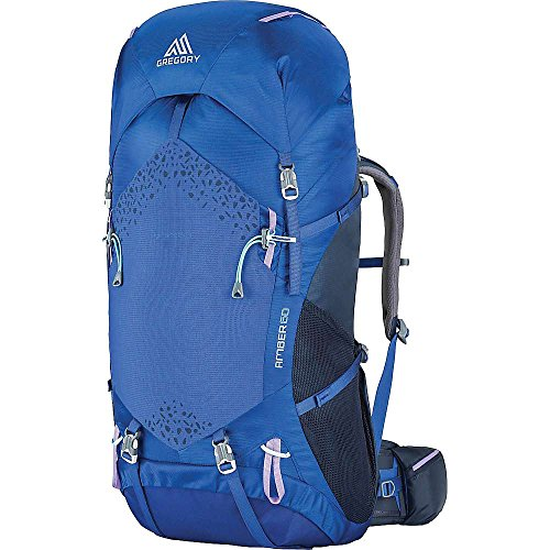 Gregory Mountain Products Amber 60 Liter Women's Backpack, Pearl Blue, One Size
