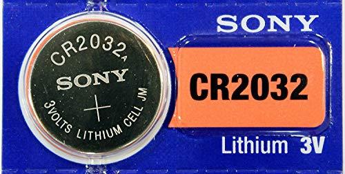Sony 3V Lithium CR2032 Battery (4 strips of 5 per unit)