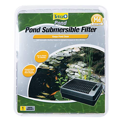 TetraPond Submersible Flat Box Filter For Ponds Up To 500 Gallons