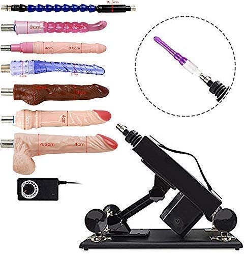 LEIONA Automatic Adult Machine, Luxurious Adjustable Adjustable Adult Toy Powerful Electric Retractable Machine