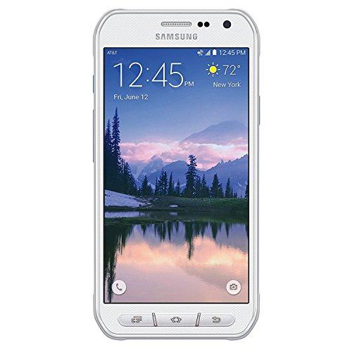 Samsung Galaxy S6 Active G890A AT&T 4G LTE Octa-Core Phone w/ 16MP Camera - White
