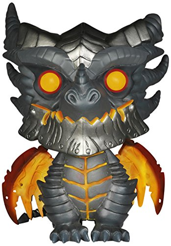Funko Pop Games: Wow Oversized Deathwing Figure, 6',Multi-colored