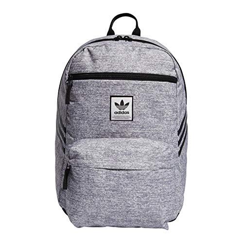 adidas Originals National SST Backpack, Jersey Grey, One Size