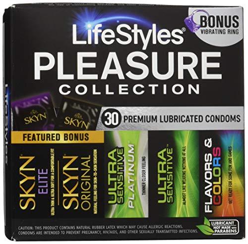 Lifestyles Pleasure Collection, 30 Condoms