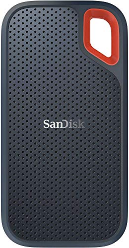 SanDisk 500GB Extreme Portable External SSD - Up to 550MB/s - USB-C, USB 3.1 - SDSSDE60-500G-G25 Standard Enclosure–Transfer Speed Up to 550MB/s