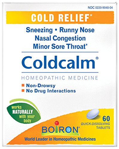 Boiron Coldcalm Cold Relief Quick Dissolving Tablets-60 ct