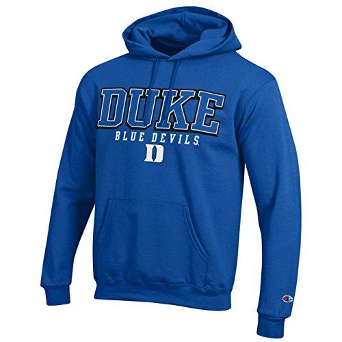 Duke Blue Devils Adult Arch Logo Classic Hoody - Royal, X-Large
