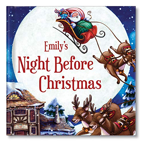 TWAS' The Night Before Christmas Book for Kids Boys Girls, Personalized