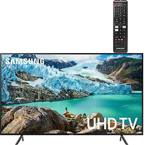 "Samsung Smart TV 58"" inch 4K UHD Flat Screen LED TV (UN58RU7100FXZA) with HDR, Google, Apple & Alexa Compatible + Remote Control Samsung TV"
