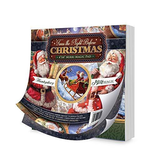 TWAS The Night Before Christmas 4'x4' Mirri Magic Pad