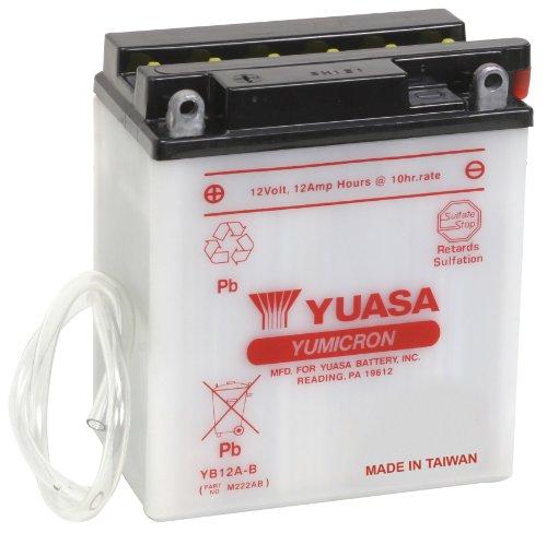Yuasa YUAM222AB YB12A-B Battery