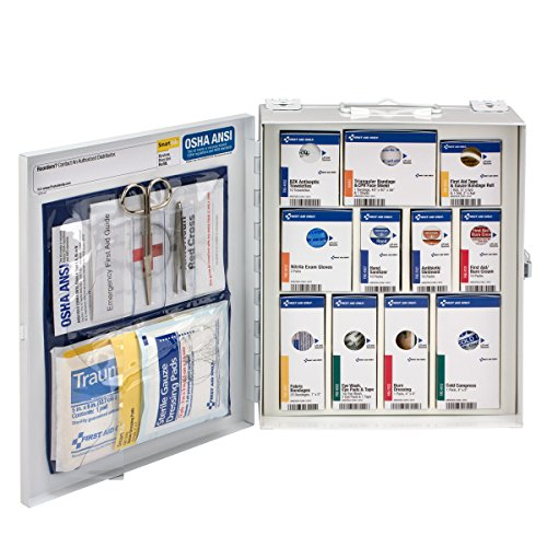 First Aid Only 25 Person Medium SmartCompliance 94 Piece Refill Cabinet without Medications (90578)