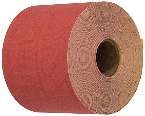 3M Red Abrasive Stikit Sheet Roll, 01682, P320, 2-3/4 in x 25 yd