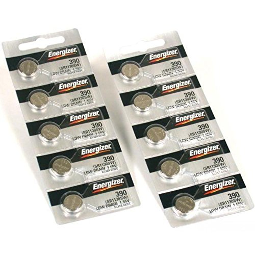 Home Products - - 10 390/389 Energizer Watch Batteries SR1130SW Cell