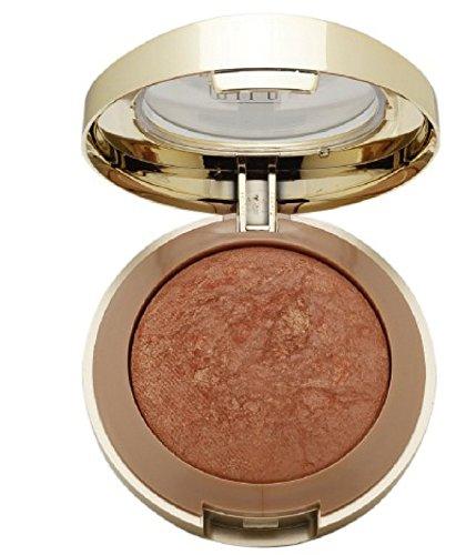 Milani Baked Powder Blush, Rose D'oro [02] 0.12 oz (Pack of 3)